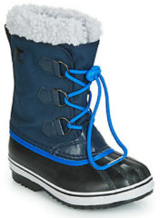 Blauwe Sportschoenen Yoot Pac Nylon by Sorel