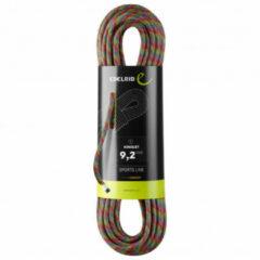 Edelrid - Kinglet 9,2 - Enkeltouw maat 70 m, zwart/grijs
