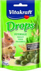 Vitakraft Knaagdier Drops - Knaagdiersnack - Peterselie Lactose Vrij