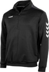 Zwarte Hummel Valencia ¼ zip Sporttrui Unisex - Maat XXXL