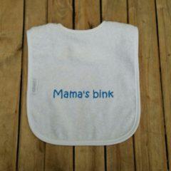 """Onze Miep Witte slab met """"Mama's bink"""""""