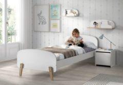 Vipack Furniture Vipack Einzelbett Kiddy 90x200 cm - Weiß