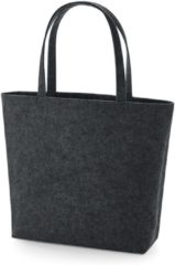 Antraciet-grijze Senvi - Luxe Shopper - Kleur Antraciet/Melee