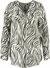 Aaiko wat langere shiny tuniek blouse viscose - Maat XS