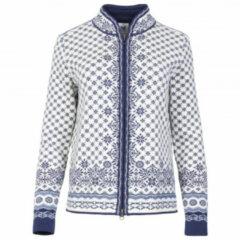 Dale of Norway - Women's Solfrid Jacket - Wollen jack maat XS, grijs/wit