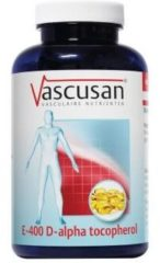 Vascusan E-400 Alpha tocopherol 120 Softgel