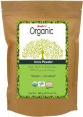 Radico AMLA 100% Natuurlijke BIO Organic Anti-Haaruitval, Anti-Vergrijzing, Haargroei, Care, Volume, Voedende Poeder 100g