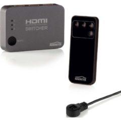 Marmitek Connect 310 UHD HDMI Switcher, unterstützt 4k HD, 3 Eingänge/ 1 Ausgang