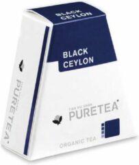 PureTea Pure Tea Black Ceylon Biologische Thee - 2 x 18 stuks