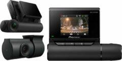 Zwarte Pioneer VREC-DZ700DC dashcam | voor en achter