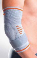 Licht-grijze Orliman Sport elastische elleboogbandage