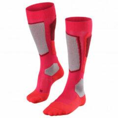 Falke - Women's SK 2 Wool - Skisokken maat 35-36, rood/roze/grijs