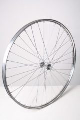 Zilveren VWP Voorwiel 28 x 1 1/2 aluminium 36G zilver