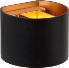 Zwarte LUCIDE WANDLAMP XIO LED DIMB. G9 1X4W 2700K ZWART