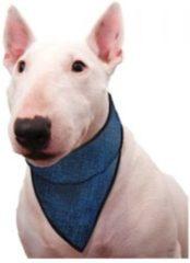 Aqua Coolceeper Aqua Coolkeeper Bandana koelsjaaltje hond- Blauw - XXS - 19-25 cm