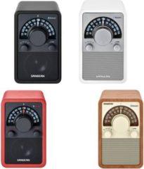 Sangean WR-15 BT UKW/MW/AUX-In/Bluetooth Radio Farbe: Rot