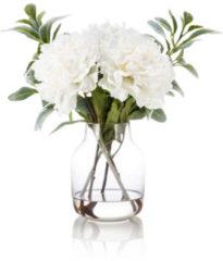 "Fleurange Pfingstrosengesteck ""Amelia"" in Vase"