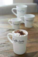 Witte Riviera Maison Rivièra Maison Classic Caffè Latte Mug - Koffiemok - Wit