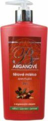 BODY TIP Verstevigende Bodylotion met Arganolie 3 in1 - 400ml - bevordert hydratatie, zorgt voor elasticiteit en houdt de huid zijdezacht met jeugdige uitstraling (anti-aging).