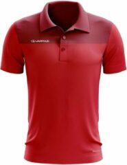 Jartazi Polo Bari Heren Polyester Rood Maat S