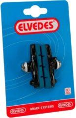 Antraciet-grijze Elvedes remblok race Camp carb velg