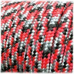 Rode ABC-Led 6MM PPM - Milk Snake- 10 meter - #624- dubbel gevlochten