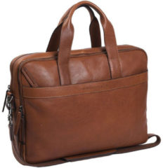 The Chesterfield Brand Duke Laptop Bag cognac