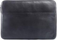 Wild Woodss WILD WOODS Leren 15,6 inch Universele Laptophoes – Laptop Sleeve – Geschikt voor Macbook Pro - Nappa Leer - Zwart