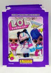 Paarse Panini - L.O.L. Surprise Fashion Fun Stickers - 50 stuks voordeelverpakking