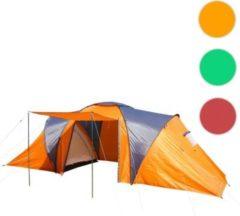 Heute-wohnen Campingzelt Loksa, 6-Mann Zelt Kuppelzelt Igluzelt Festival-Zelt, 6 Personen