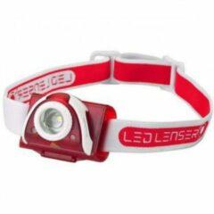 Rode Ledlenser - SEO 5 - Hoofdlamp grijs/rood
