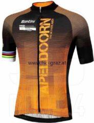 Santini UCI Short Sleeve Jersey Blend Apeldoorn - Maat XL