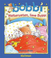 Kluitman Bobbi welterusten en knuffel