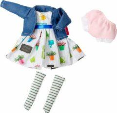 Berjuan Poppenkledingset The Biggers Meisjes Ivoorwit/rood