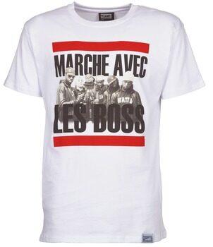Afbeelding van Witte T-shirt Korte Mouw Wati B BOSS