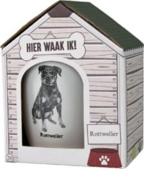 Witte Paper dreams Mok – Rottweiler – Dier – Puppy – Hond – Dieren – Mokken en bekers – Keramiek – Mokken - Porselein - Honden – Cadeau - Kado