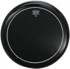 Remo ES-1622-PS Ebony Pinstripe 22 inch bassdrumvel