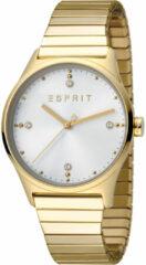 Esprit outlet Esprit ES1L032E0075 VinRose - Horloge - Staal - Goudkleurig - Ø 34 mm