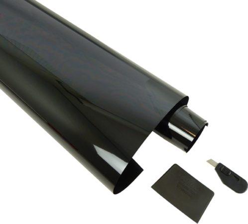 Afbeelding van Carpoint Krasb.folie limoblack 3% 300x50 cm