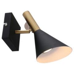 Zwarte Home24 Wandlamp Annes Choice I, Steinhauer