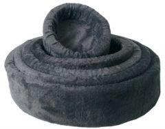 Merkloos / Sans marque Teddy hondenmand grijs Nr 2 50 cm