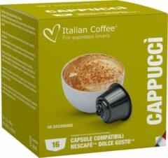 Italian Coffee - Cappuccino Italiano - 16x stuks - Dolce Gusto compatibel