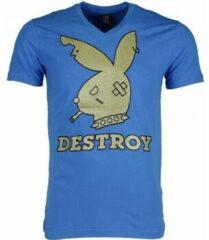 Blauwe T-shirts Mascherano T-shirt - Destroy