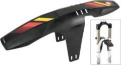 Zefal Zéfal 2552 VR-Steckblech FM20 mit 3 unterschiedlichen Stickern, schwarz (1 Stück)