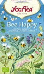 Yogi Tea Bee Happy - Biologische kruidenthee - Voordeelverpakking 6 pakjes