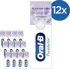 Oral-B PureActive Glazuur Care - Voordeelverpakking 12x75ml - Tandpasta
