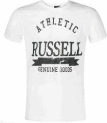 Witte Russell Athletic - Crew Neck SS Tee - Heren - maat S