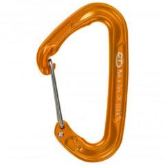 Climbing Technology - Fly-Weight Evo - Snapkarabiner maat Single, bruin/oranje