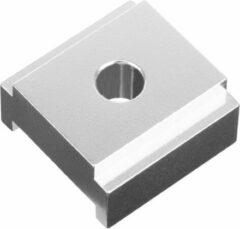 Ergotec Adapterplaat Voor Zijstandaard Aluminium Zilver