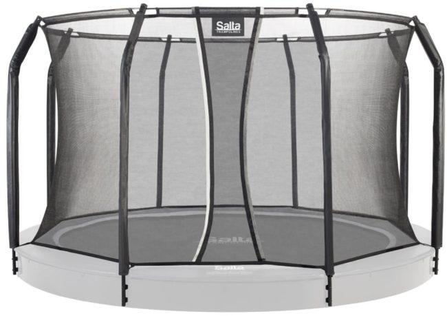 Afbeelding van Salta Royal Base Ground trampoline met veiligheidsnet - ⌀396 cm